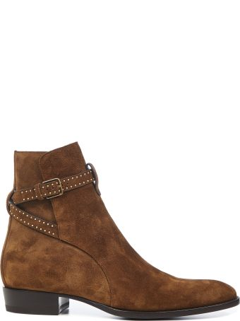 Saint Laurent Wyatt Jodhpur Boots