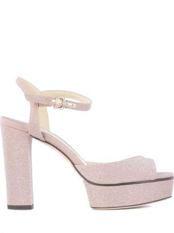Jimmy Choo Peachy Platform Sandals
