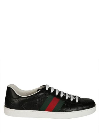 Gucci Ace Logo Sneakers