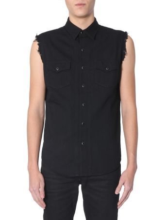 Saint Laurent Sleeveless Shirt