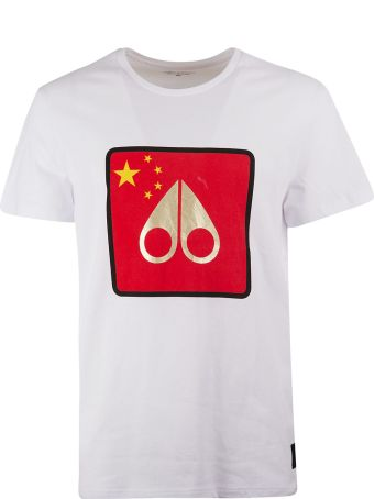 Moose Knuckles Printed T-shirt