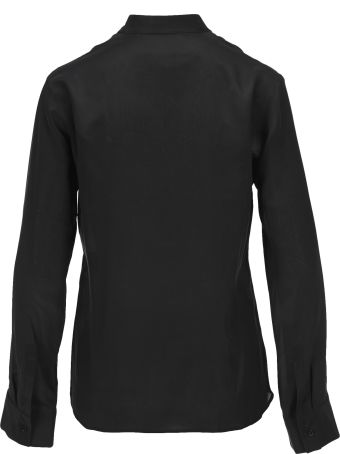 Haider Ackermann Ruffled Silk Shirt