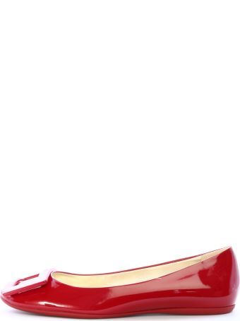 Roger Vivier Ballt Shoes Red Patent