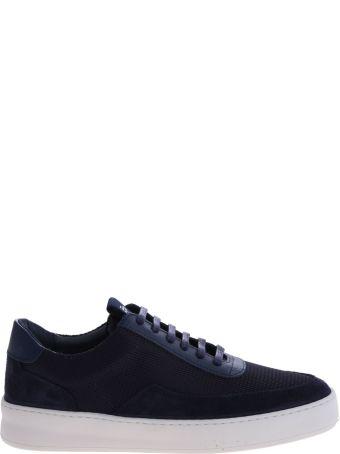 Filling Pieces Sneaker Leather Low Mondo Ripple 2452623 Black
