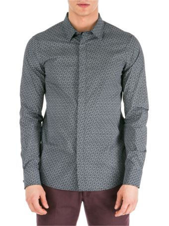Emporio Armani  Long Sleeve Shirt Dress Shirt Slim Fit