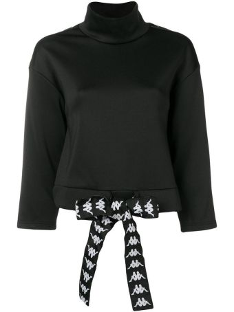 Kappa Sweatshirt With High Collar