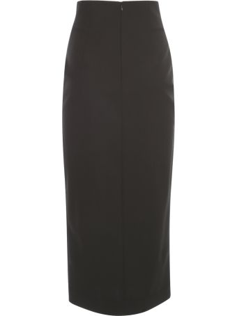 PierAntonioGaspari Long Pencil Skirt W/side Buttons