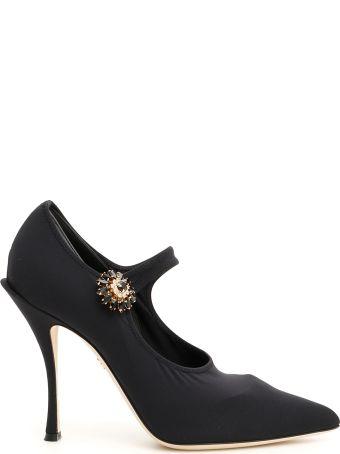 Dolce & Gabbana Stretch Lori Mary Jane Pumps