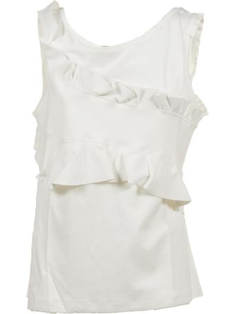 Carven Ruffle Top