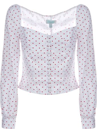 Jovonna Siven Dotted Blouse
