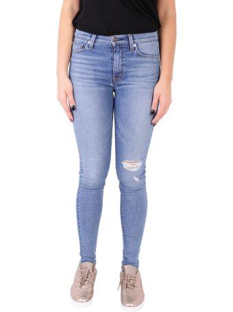 Hudson Jeans Barbara Super Skinny Jeans