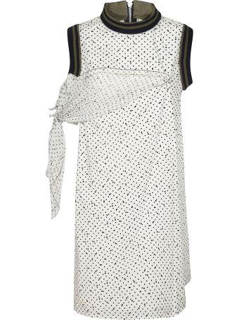 Sacai Side Panel Shift Dress