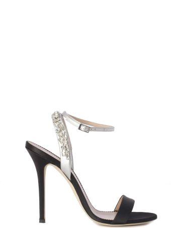 Giuseppe Zanotti Sandals Jewels Bracialet Heel 11.5 Cm Satin