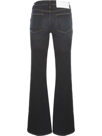 Frame Long Flared Jeans
