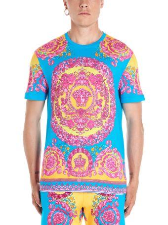 Versace 'barocco Fluo' T-shirt