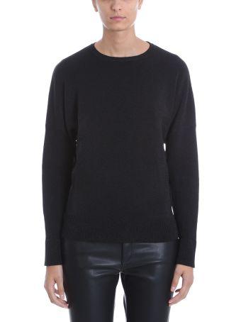 Laneus Black Lurex Blend Sweater