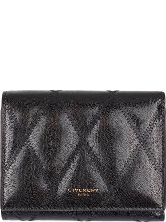 Givenchy Logo Detailed Leather Wallet