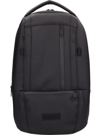 Eastpak Black Fabric Backpack In Black Fabric