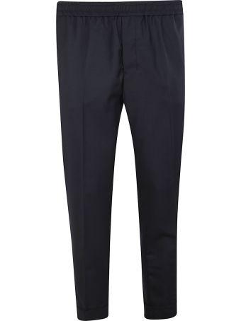 Ami Alexandre Mattiussi Cropped Fit Trousers