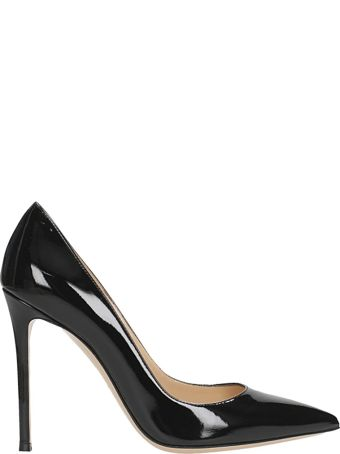 Lerre Black Patent Leather Pumps