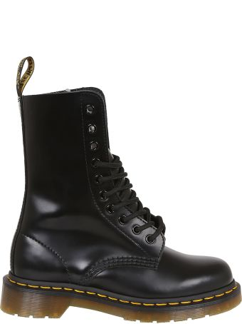 Marc Jacobs Dr. Martens X Marc Jacobs Logo Lace-up Boots