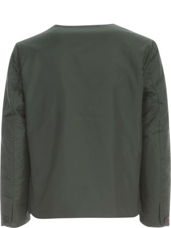 Aspesi New Tenerina Crew Neck Jacket W/applied Pocket