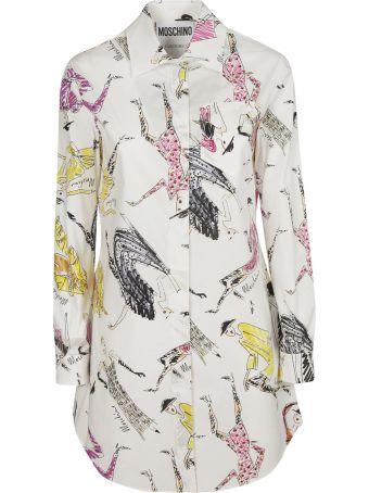 Moschino Long Print Shirt