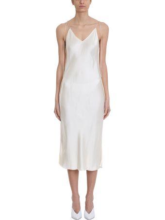 Helmut Lang Raw Slip Dress