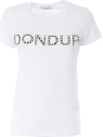 Dondup Embellished Logo T-shirt