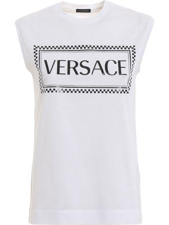Versace Logo Tank Top