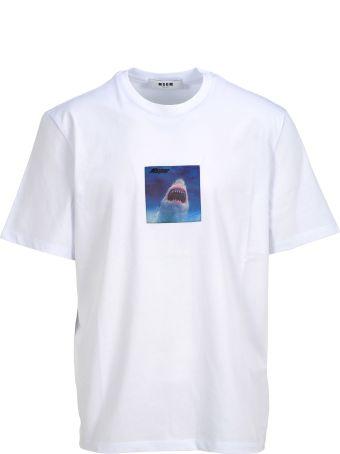 MSGM Tshirt Shark