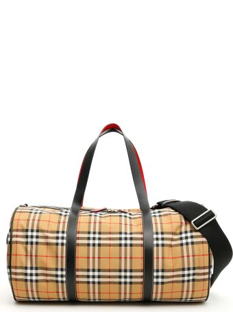 Burberry Large Kennedy Duffle Bag