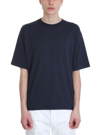 Golden Goose Blue Cotton T-shirt