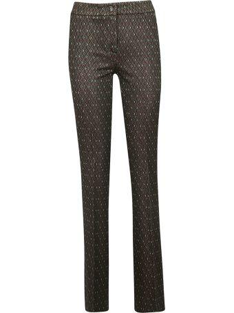 Via Masini 80 Patterned Trousers