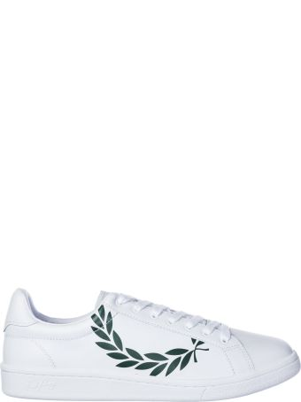 Fred Perry  Shoes Leather Trainers Sneakers B721 Laurel