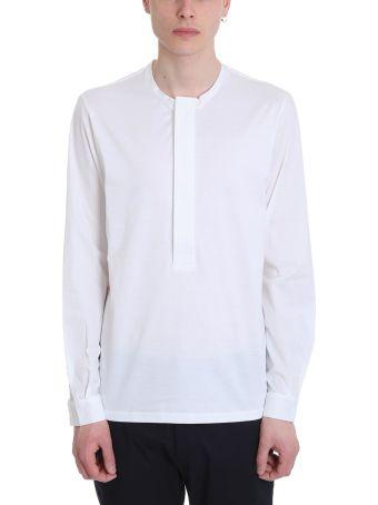 Low Brand Serafino White Cotton T-shirt