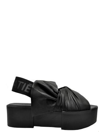 Vic Matié Draped Sandals