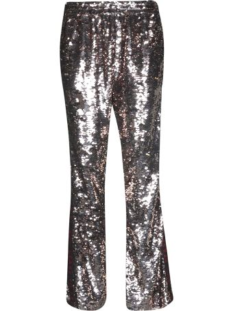 Faith Connexion Sequined Flared Trousers