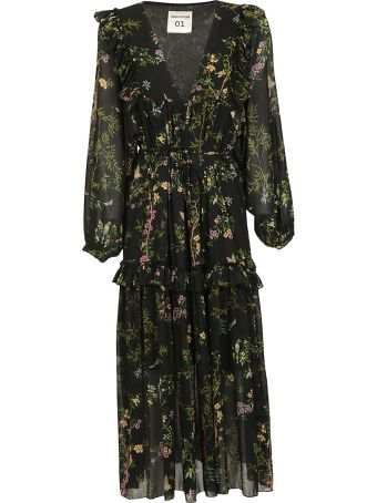 SEMICOUTURE Floral Dress