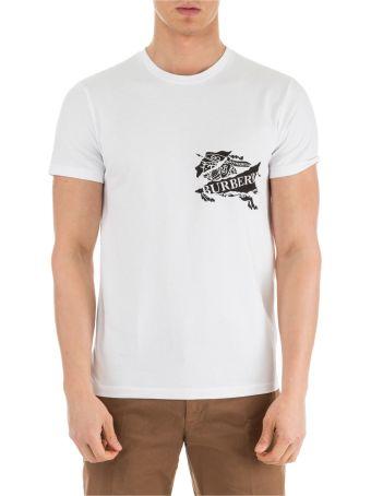 Burberry  Short Sleeve T-shirt Crew Neckline Jumper