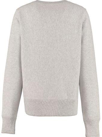 Champion Logo Detail Cotton Sweatshirt