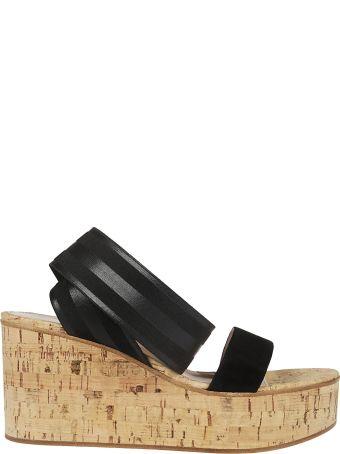 Gianvito Rossi Open Toe Platform Sandals