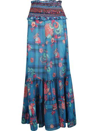 Anjuna Anjuna Floral Print Skirt