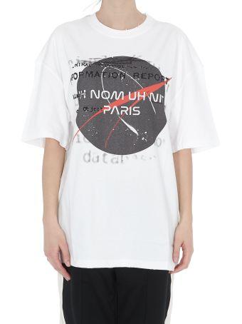 ih nom uh nit Nasa Print T-shirt