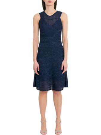 M Missoni Mribbed Lurex Knit Midi Dress