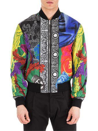 Versace  Nylon Outerwear Jacket Blouson