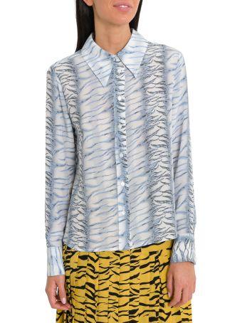 Rixo London Jamie Tiger Pattern Shirt