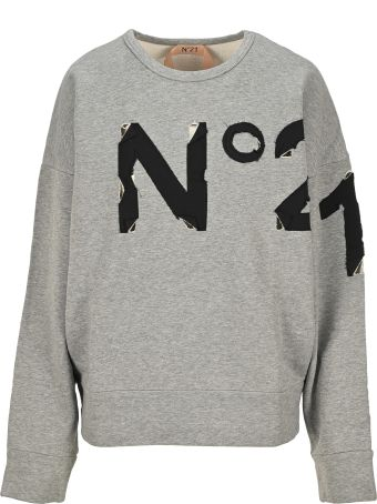 N.21 N21 Logo Patch Sweatshirt