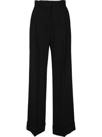 See by Chloé Structured Flared Trousers