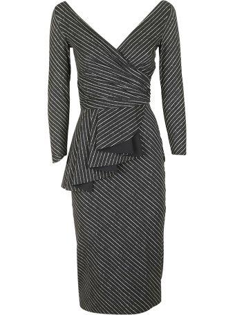La Petit Robe Di Chiara Boni Striped Dress
